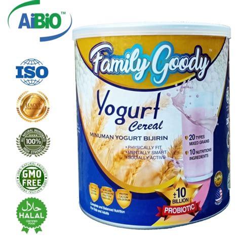 Neuroaid Mlc 601 By Blessing family goody yogurt cereals