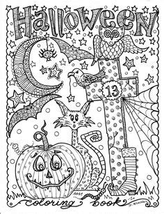 hard halloween coloring pages for adults pinterest the world s catalog of ideas