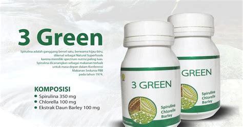3green 3 Green Hwi Original 3geern suplement baga semua kalangan stokist hwi solusi praktis obat jerawat paling uh