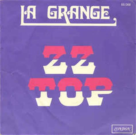 Zztop La Grange by Zz Top La Grange Vinyl 7 Quot 45 Rpm Single Discogs