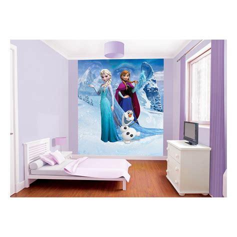 walltastic disney frozen wallpaper mural disney frozen wallpaper mural asda girls room