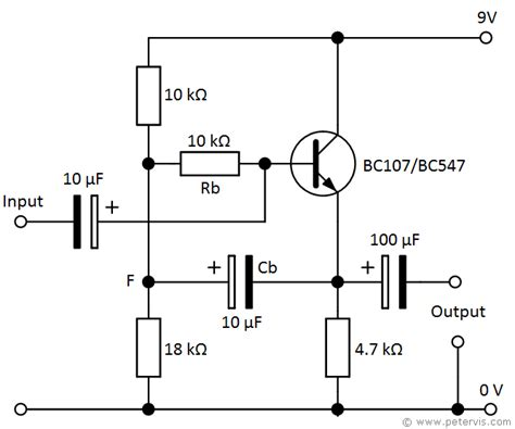 transistor lifier impedance transistor bootstrapping circuit using bjt