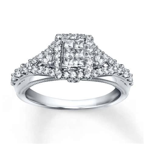 engagement ring 5 8 carat tw cut 10k