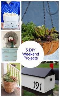 Projects Diy House Projects Bright 5 Weekend Diy Projects Bright Bold And Beautiful