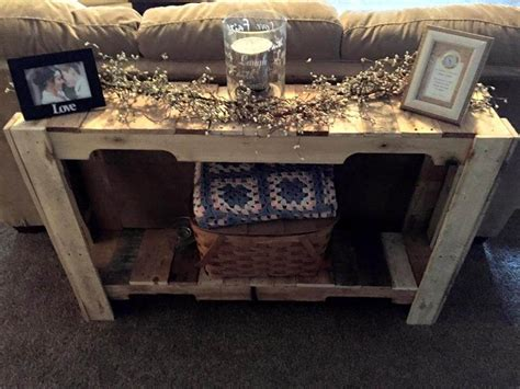 45 Easiest Diy Projects With Wood Pallets You Can Build Pallet Sofa Table
