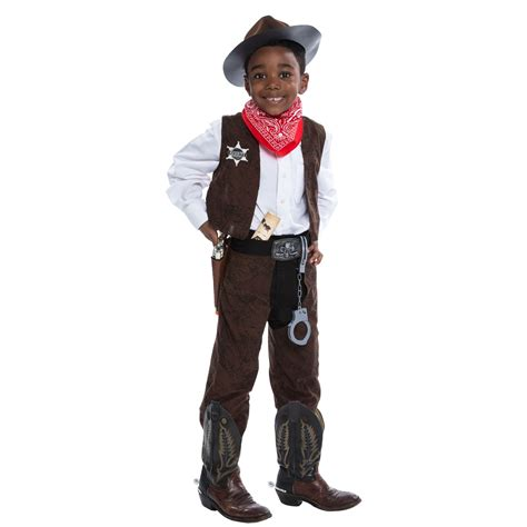 Cowboy Decorations For Home by Deluxe Cowboy Costume Kit Buycostumes Com
