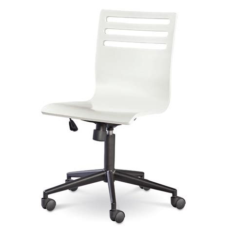 White Swivel Desk Chair Www Imgkid Com The Image Kid Desk Chairs White
