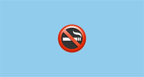 no smoking sign mac startup no smoking symbol emoji