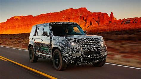 Jaguar Land Rover Defender 2020 by 2020 Land Rover Defender Teased In Revealing New Picture