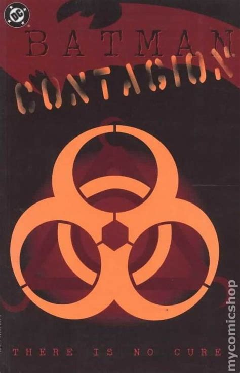 Batman Contagion batman contagion tpb 1996 dc 1st edition comic books