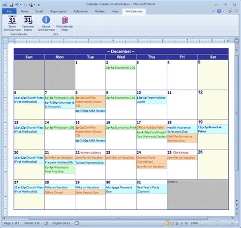 printable calendar program calendar software for windows 7 printable calendar 2018