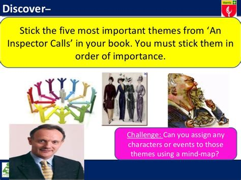 Important Themes In An Inspector Calls   aic plot and themes revision