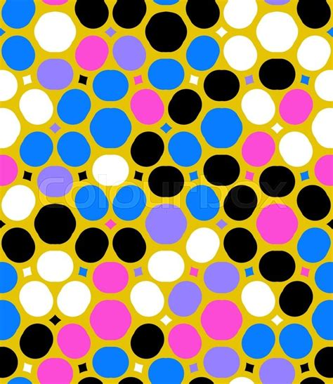 dot pattern multiple square shapes ditsy vector polka dot pattern with random circles in