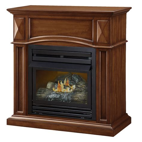 shop pleasant hearth 35 75 in dual burner vent free cherry