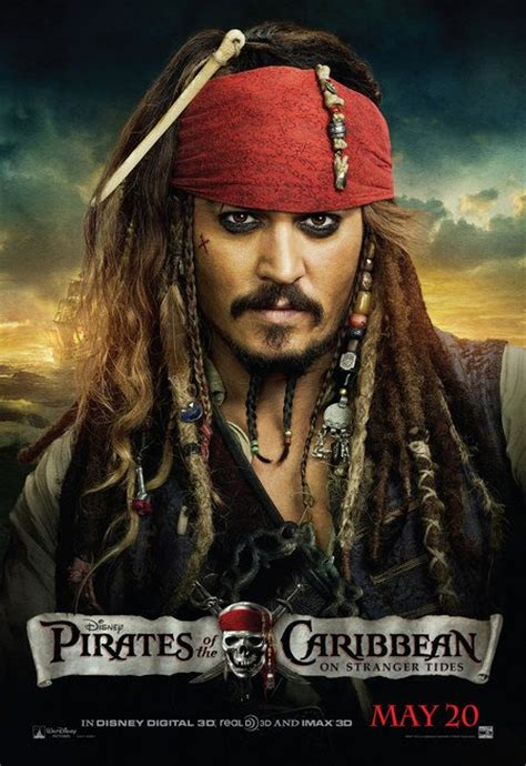 johnny depp as captain jack sparrow moviesentry pirates of the caribbean on stranger tides