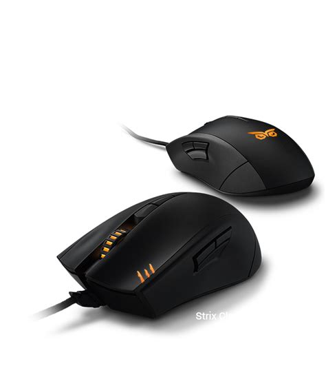 Mouse Asus Strix claw back2gaming