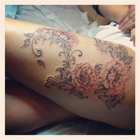 soft tattoo designs lace and flower search tattoos