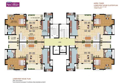 cluster home floor plans welcome to realtors india