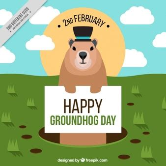 groundhog day how many days did it last circular farm logotype vector premium