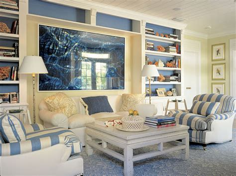 New England Home Decorating Ideas by Coastal Cabin Interior The House Decorating