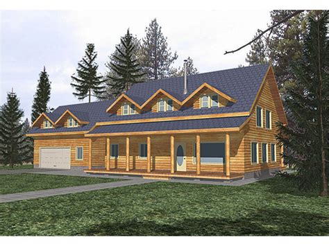 River Bluff Rustic Country Home Plan 088d 0008 House Rustic Slab House Plans