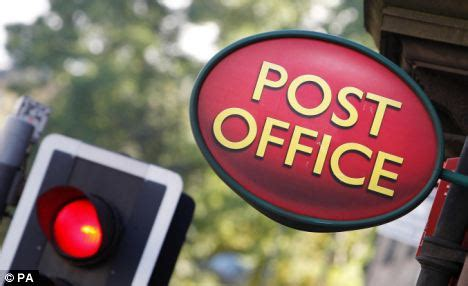 900 post offices turned into part time branches that open