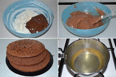 bagno pan di spagna 187 torta kit ricetta torta kit di misya