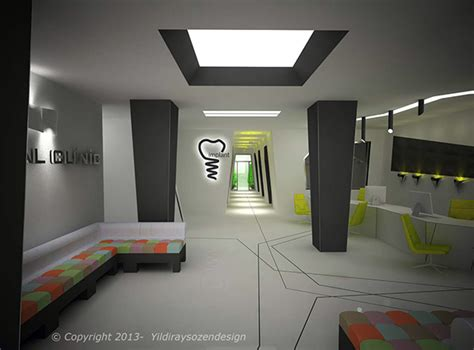 design interior of dental clinic dental clinic design on behance