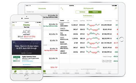 fidelity mobile app mobile finance fidelity