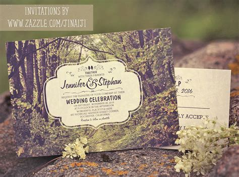 Wedding Invitations With Trees by Trees Path Wedding Invitations Need Wedding Idea