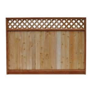 8 Ft Trellis Panels Signature Development 6 Ft H X 8 Ft W Western Red Cedar
