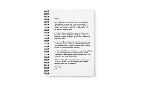 resignation letter conflict resignation letter no 7 resignation