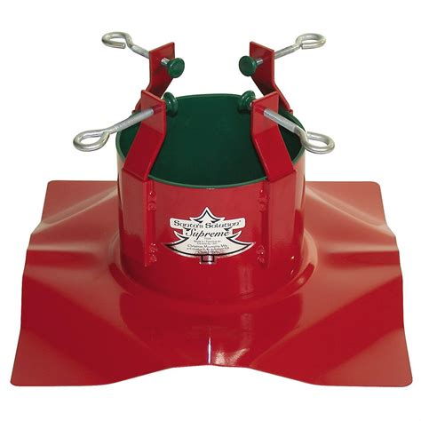 santa s solution supreme christmas tree stand with auto