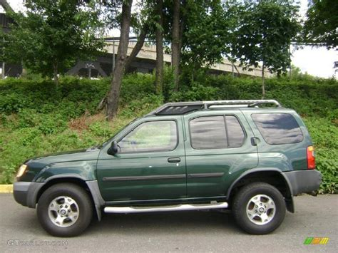 2001 alpine green metallic nissan xterra se v6 31585239 photo 2 gtcarlot car color