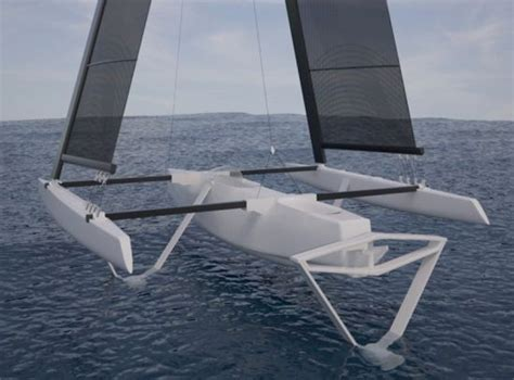 trimaran kit with folding akas 17 best images about trimarans on pinterest boat plans