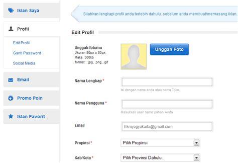 membuat email olx cara mendaftar dan membuat akun di olx co id tokobagus