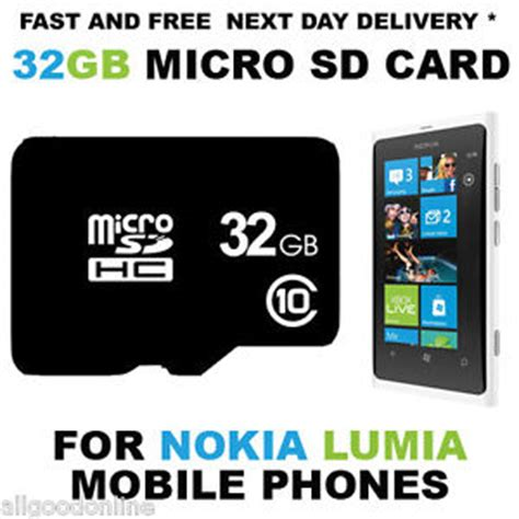 Micro Sd Nokia 32gb micro sd memory card for nokia lumia 625 630 635 720