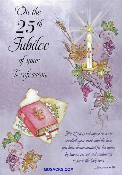 Wedding Anniversary Greetings Religious by Jubilee Anniversary Of Religious Greeting Cards