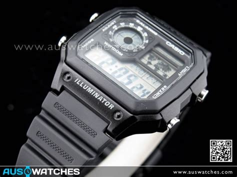 Casio Jam Tangan Ae 1200wh 1avdf buy casio 10yrs battery 5 alarms world time ae 1200wh 1a ae1200wh buy watches