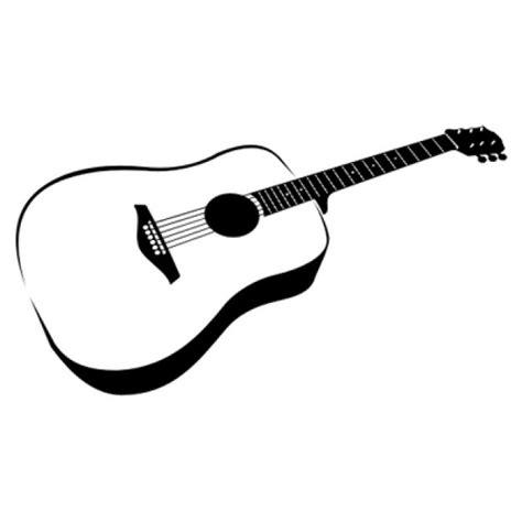 imagenes de guitarras blanco y negro plana ilustraci 243 n en blanco y negro de la guitarra