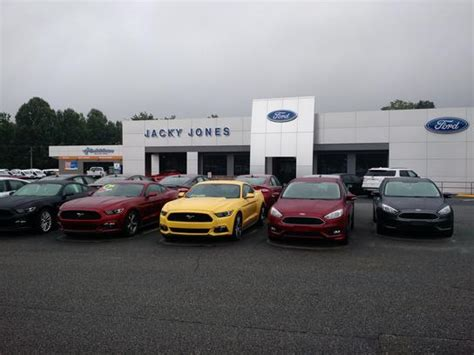 jacky jones ford cleveland ga 30528 7156 car dealership