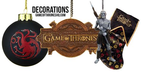 game of thrones christmas decorations