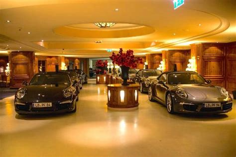 Arriving at the Interalpen in our Porsche 911's Picture of Interalpen Hotel Tyrol, Telfs