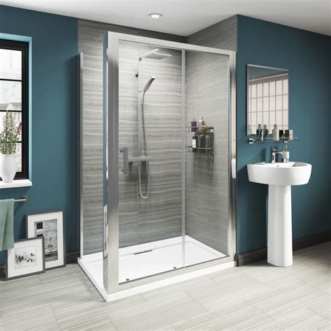 Shower Cubicle 700 X 700 by Luxury 8mm Sliding Shower Enclosure 1200 X 700