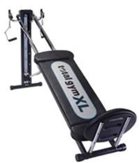 chuck norris weight bench total gym xl
