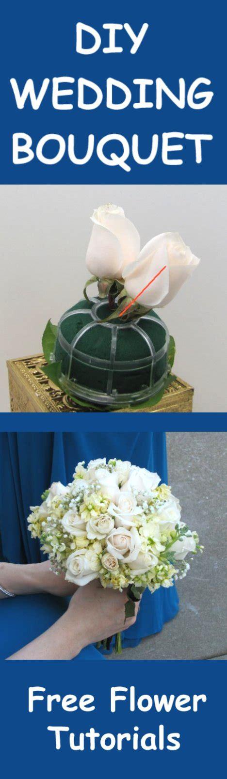 Wedding Bouquet Tutorial by Wedding Bouquets Easy Diy Flower Tutorials