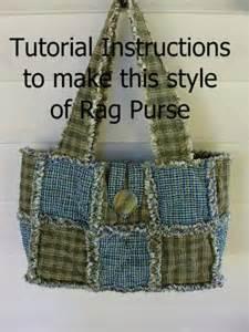ashlawnfarms rag quilt purse pattern pdf