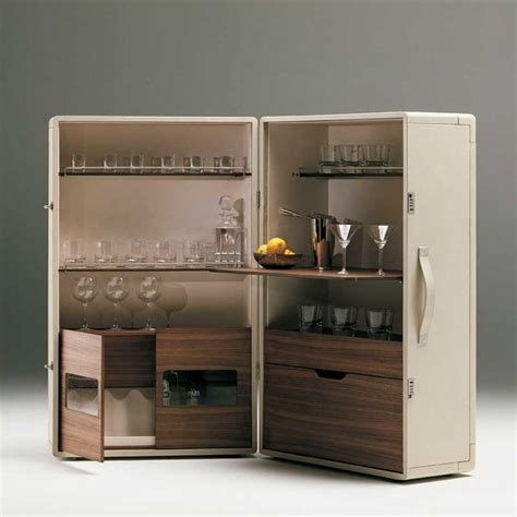 Contemporary Bar Cabinet Poltrona Frau Isidoro Bar Cabinet Modern Wine And Bar Cabinets By Switch Modern