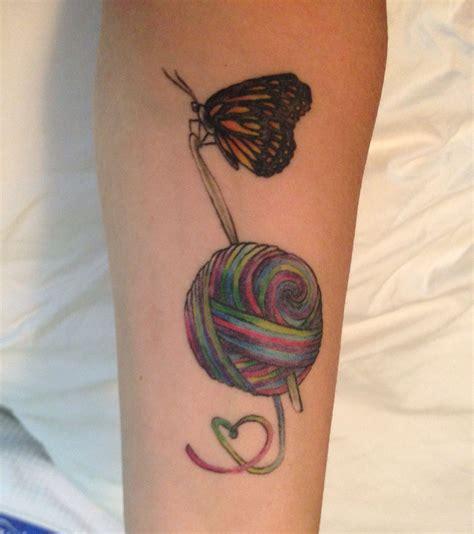 tattoo needle hook forearm crochet tattoo crochet tattoos pinterest