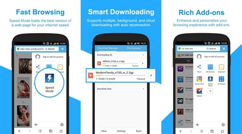 uc browser for android uc browser 9 7 for android softpedia